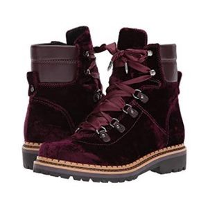 c02ee352bd18 Sam Edelman Shoes - Sam Edelman Browan Velvet Combat Boots